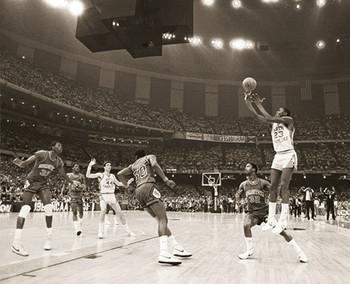 Michael Jordan - last shot Poster