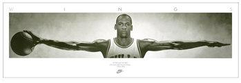 Michael Jordan - Wings, basketball Poster