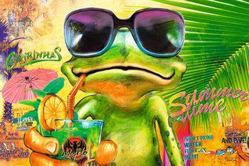 Michael Tarin – frog: summertime Poster
