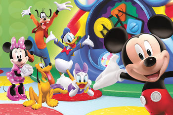 MICKEY MOUSE CLUBHOUSE Poster, Art Print