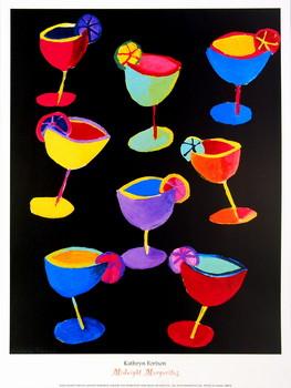 Midnight Margaritas Art Print