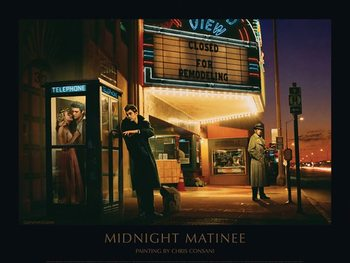 Midnight Matinee - Chris Consani Art Print