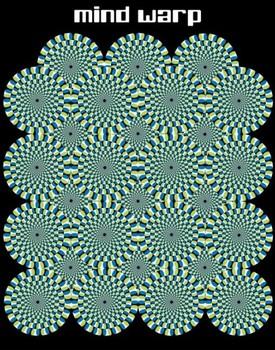 Mind warp – circles Poster