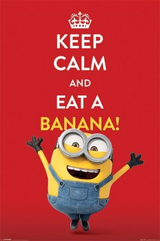 Minions - Keep Calm Poster, Art Print