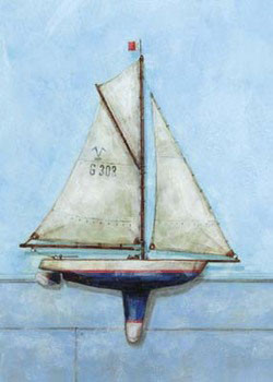 Model Boat Art Print