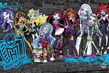 Poster MONSTER HIGH - cast