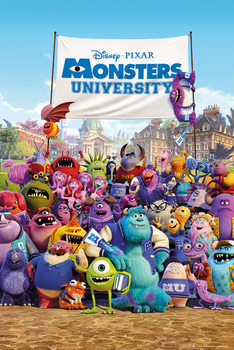 MONSTERS UNIVERSITY – one sheet Poster