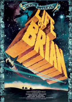MONTY PYTHON - life of brian Poster