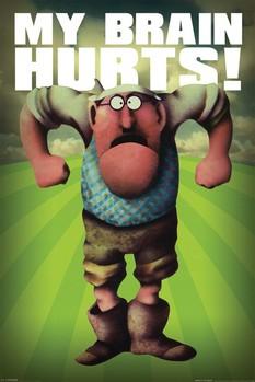 Monty Python - my brain Poster