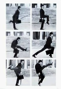 Monty Python: Silly Walks - John Cleese Poster