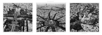 Monuments de Paris Art Print