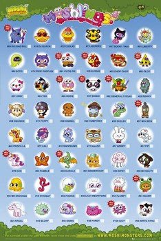 Moshi monsters - moshlings