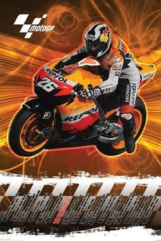 Moto GP - dani pedrosa Poster