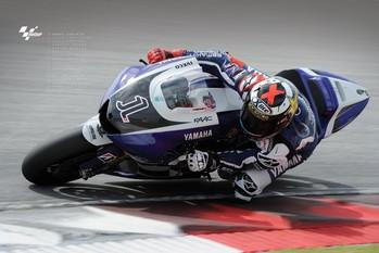 Moto GP - jorge lorenzo Poster