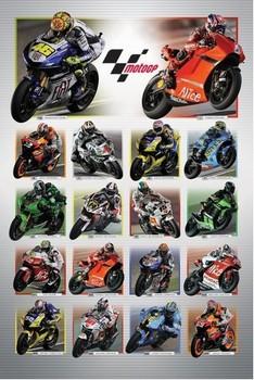 Moto GP - riders Poster