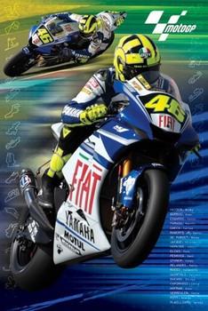 Moto GP - rossi Poster