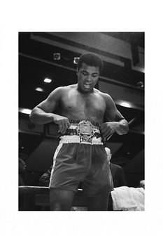 Muhammad Ali - belt Poster, Art Print