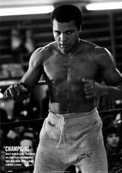 Muhammad Ali - champions Poster