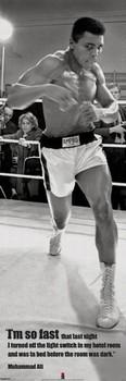 Pôster Muhammad Ali - fast