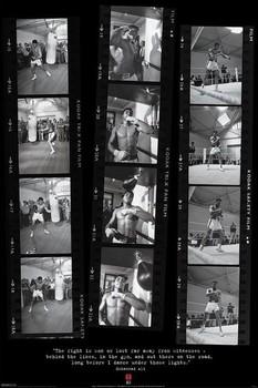 Muhammad Ali – filmstrips Poster