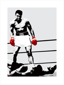 Muhammad Ali - Gloves  Art Print