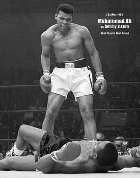 Muhammad Ali - portrait Poster, Art Print