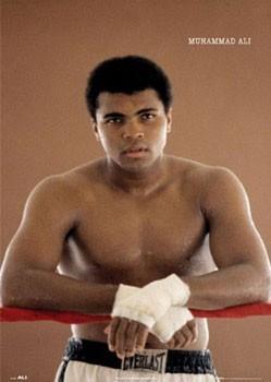 Muhammad Ali - ropes Poster
