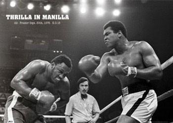 Muhammad Ali - thrilla Poster