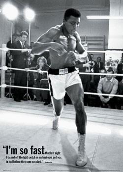 Muhammad Ali - training Poster