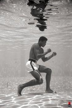 Muhammad Ali - underwater Poster