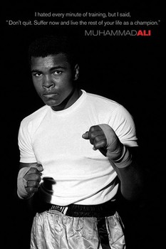 Muhammad Ali - young Poster