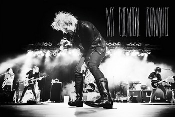 My chemical romance - live Poster