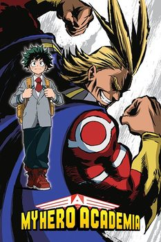 My Hero Academia - All Might Flex Poster