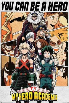 My Hero Academia - Be a Hero Poster