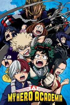 My Hero Academia - Cobalt Blast Group Poster