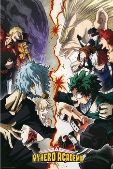 Poster My Hero Academia - Heroes VS. Villains