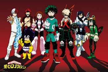 Poster My Hero Academia - Line Up