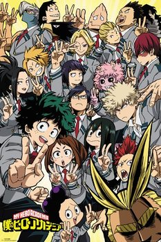 My Hero Academia - School Compilation Poster