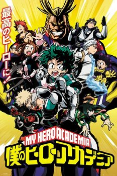 Poster My Hero Academia - Season 1
