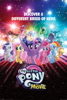 Poster  My Little Pony Movie - A Different Breed of Hero