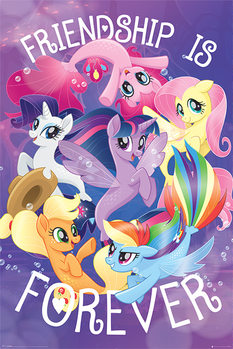 Poster My Little Pony Movie - Friendship is Forever