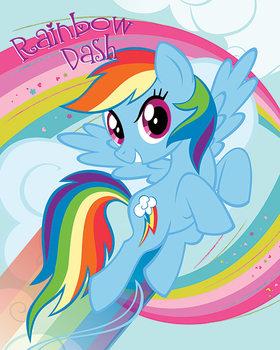 My Little Pony - Rainbow Dash Poster