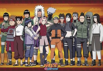 Naruto Shippuden - Konoha Ninjas Poster