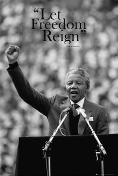 Nelson Mandela - freedom Poster