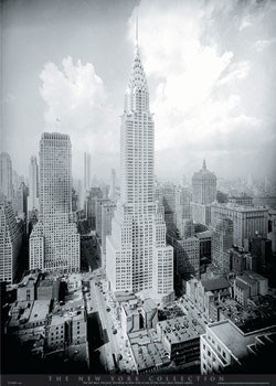 New York - Chrysler building Poster