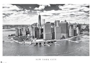 New York City - Airview Poster