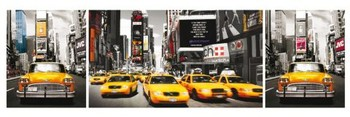 New York - taxi Poster