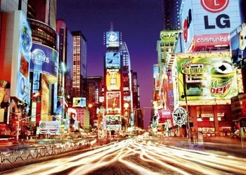 New York - time square Poster, Art Print