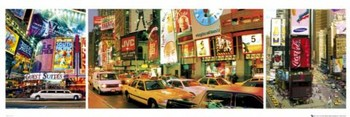 New York - Times square Poster, Art Print