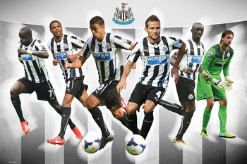 Newcastle United FC - Players 13/14 Poster